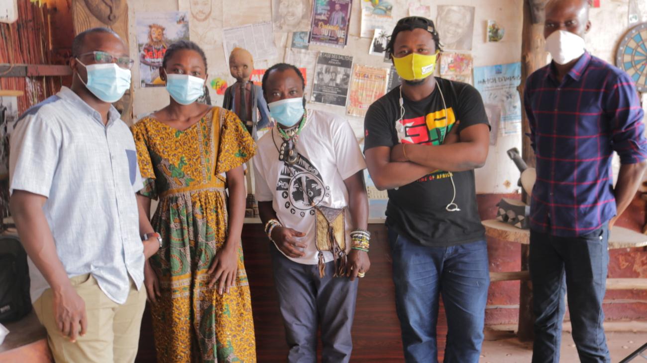 Deuxiéme atelier Miadé. Local Community Network. ©Local Leads