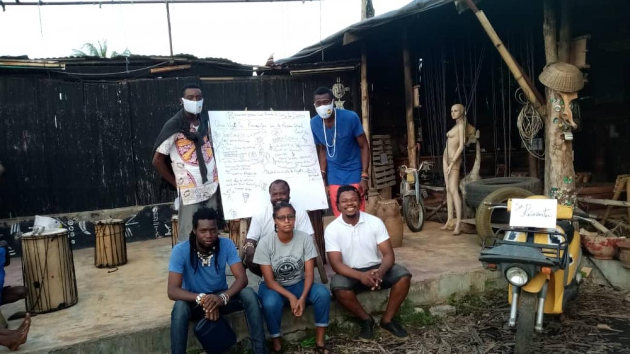Miadé. Local Community Networks Miadé Atelier 1 ©Local Leads, Togo